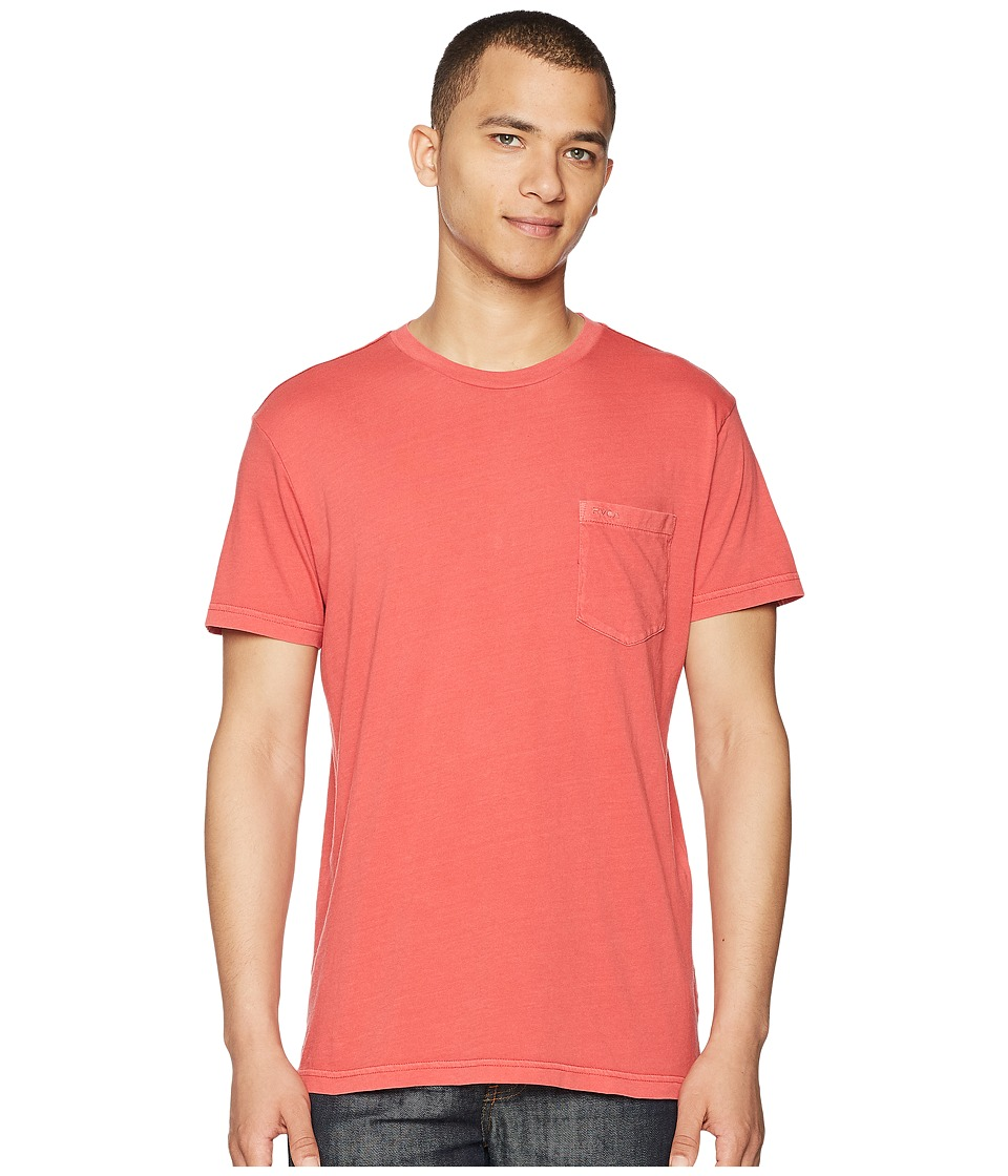 RVCA - PTC 2 Pigment Knit Tee (Baked Apple) Mens T Shirt