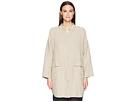 Eileen Fisher Mandarin Collar Jacket