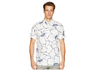 Ted Baker Ted Baker Andle Short Sleeve Linear Floral Shirt