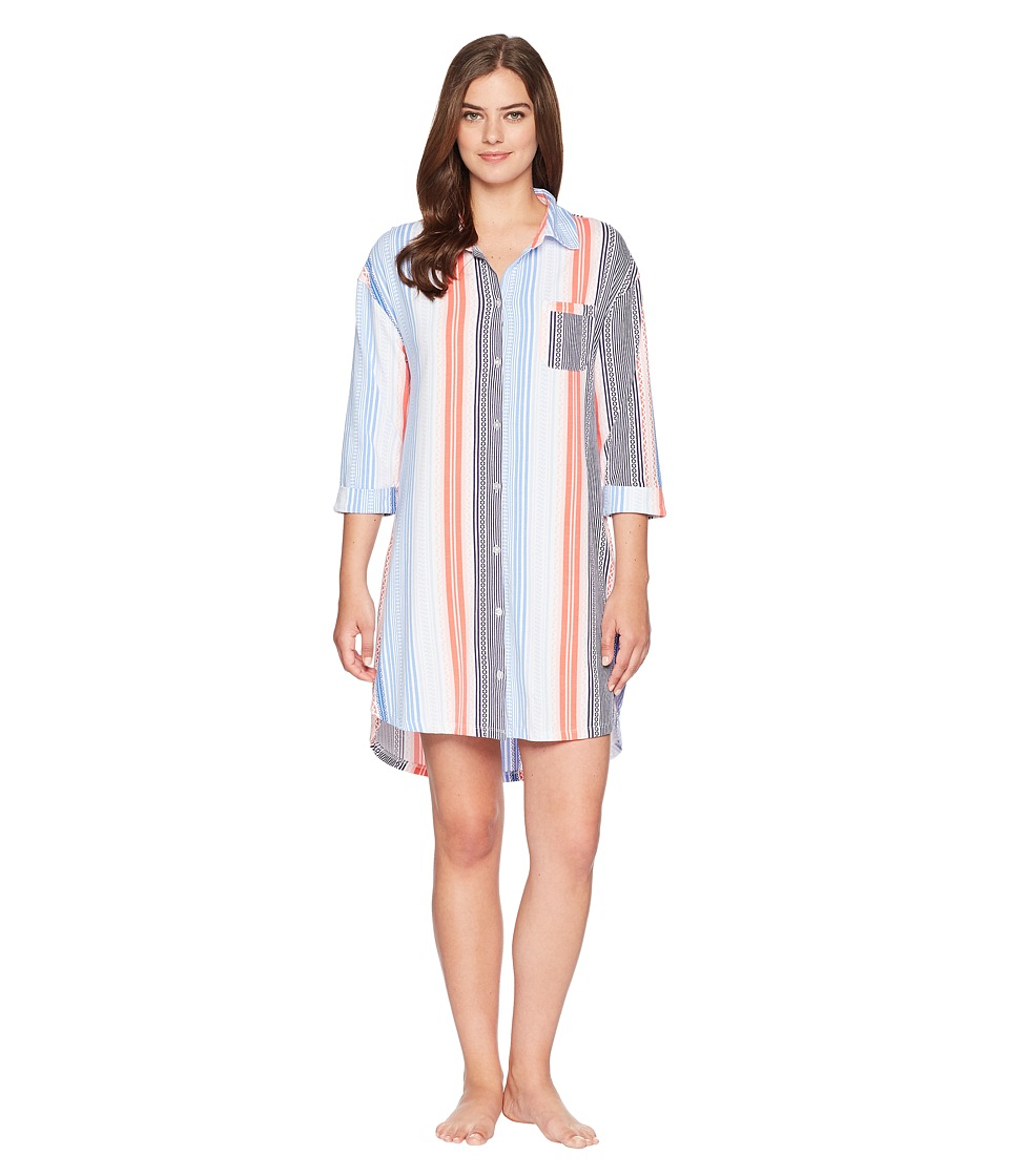 Jockey - Sleepshirt (Multi Stripe) Womens Pajama