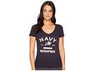 Champion College Navy Midshipmen University V-Neck Tee