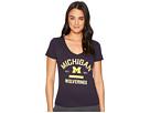 Champion College Michigan Wolverines University V-Neck Tee