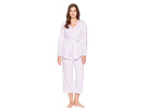 Carole Hochman Three-Piece Pajama Set