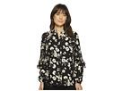 LAUREN Ralph Lauren LAUREN Ralph Lauren Floral Ruffled Georgette Shirt