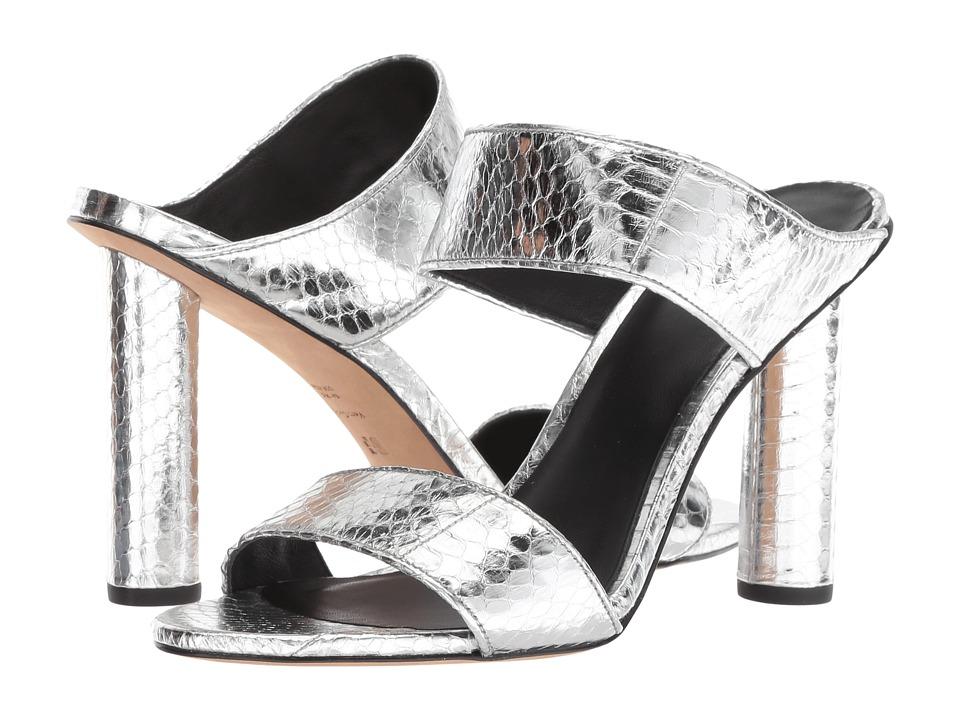 Diane von Furstenberg Etta-2 (Silver) Women's Shoes