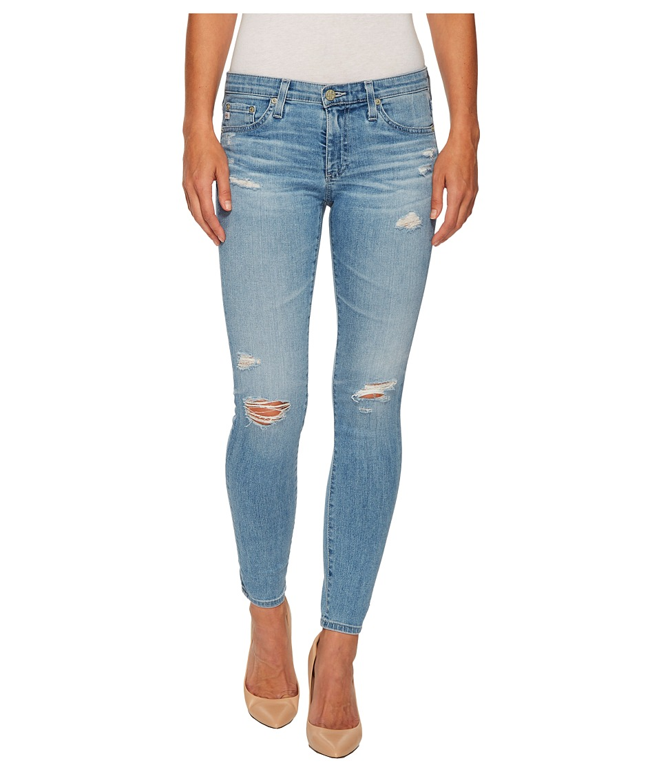 AG Adriano Goldschmied - Leggings Ankle in 20 Years Oceana Destructed (20 Years Oceana Destructed) Womens Jeans