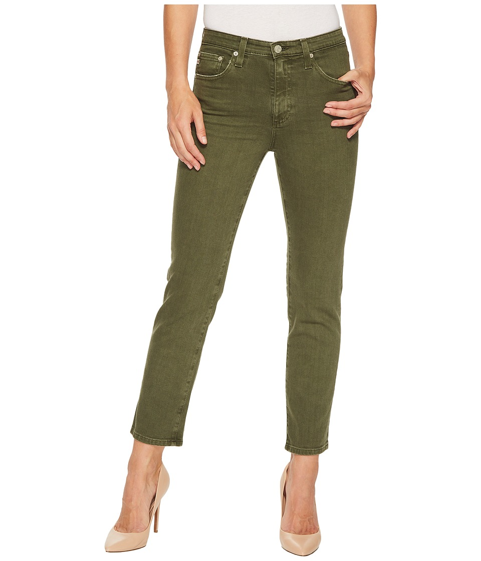 AG Adriano Goldschmied - Isabelle in 1 Year Sulfur Desert Pine (1 Year Sulfur Desert Pine) Womens Jeans