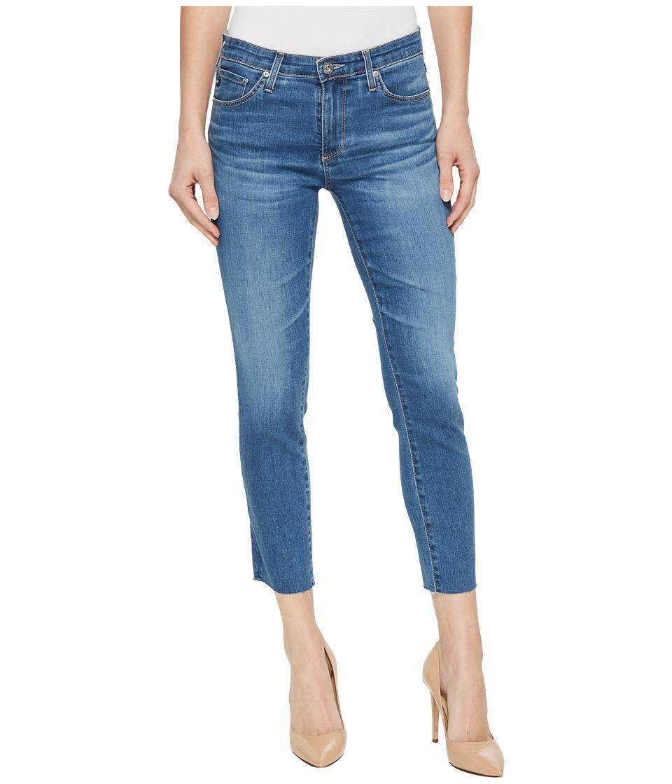 AG Adriano Goldschmied - Prima Crop in Indigo Viking (Indigo Viking) Womens Jeans