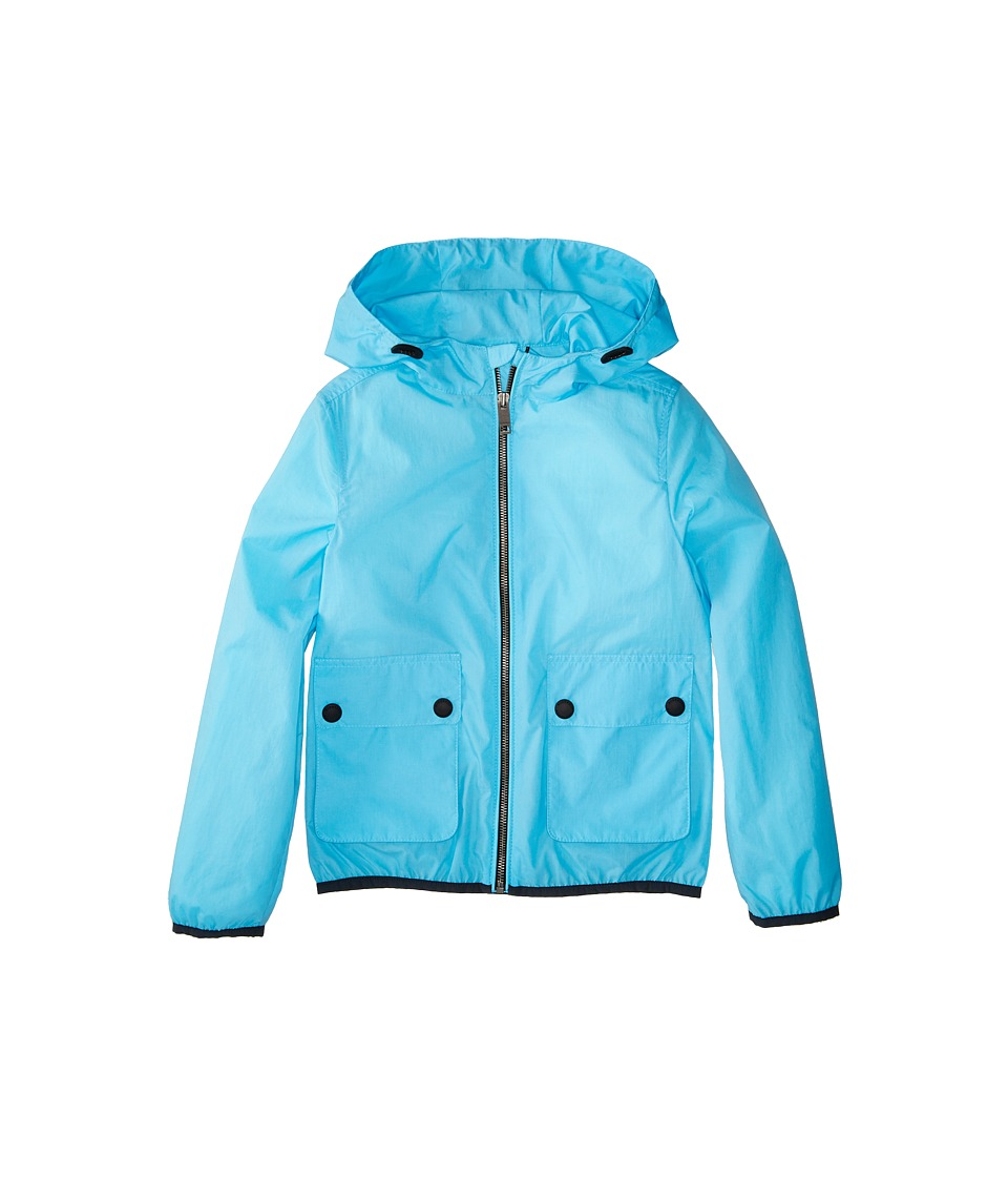 Burberry Kids - Hurst ACBBI Outerwear (Little Kids/Big Kids) (Bright Turquoise) Boy's Coat