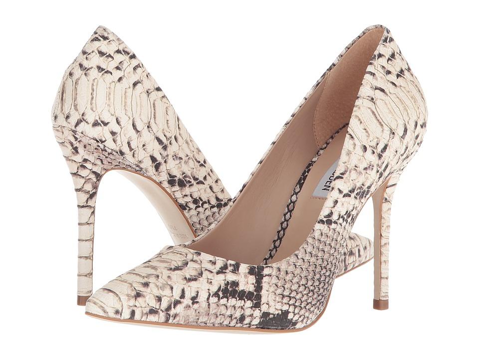 Steve Madden Daisie-P Pump (Natural Snake) Women's Shoes