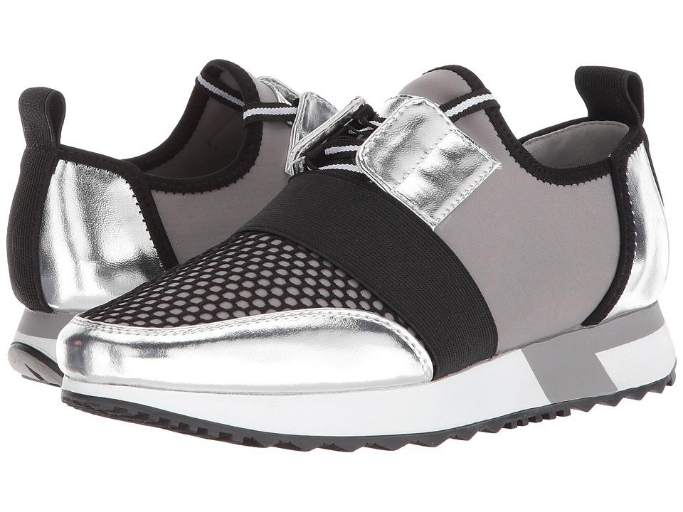 Steve Madden Antics Sneaker (Silver Multi) Women's Shoes
