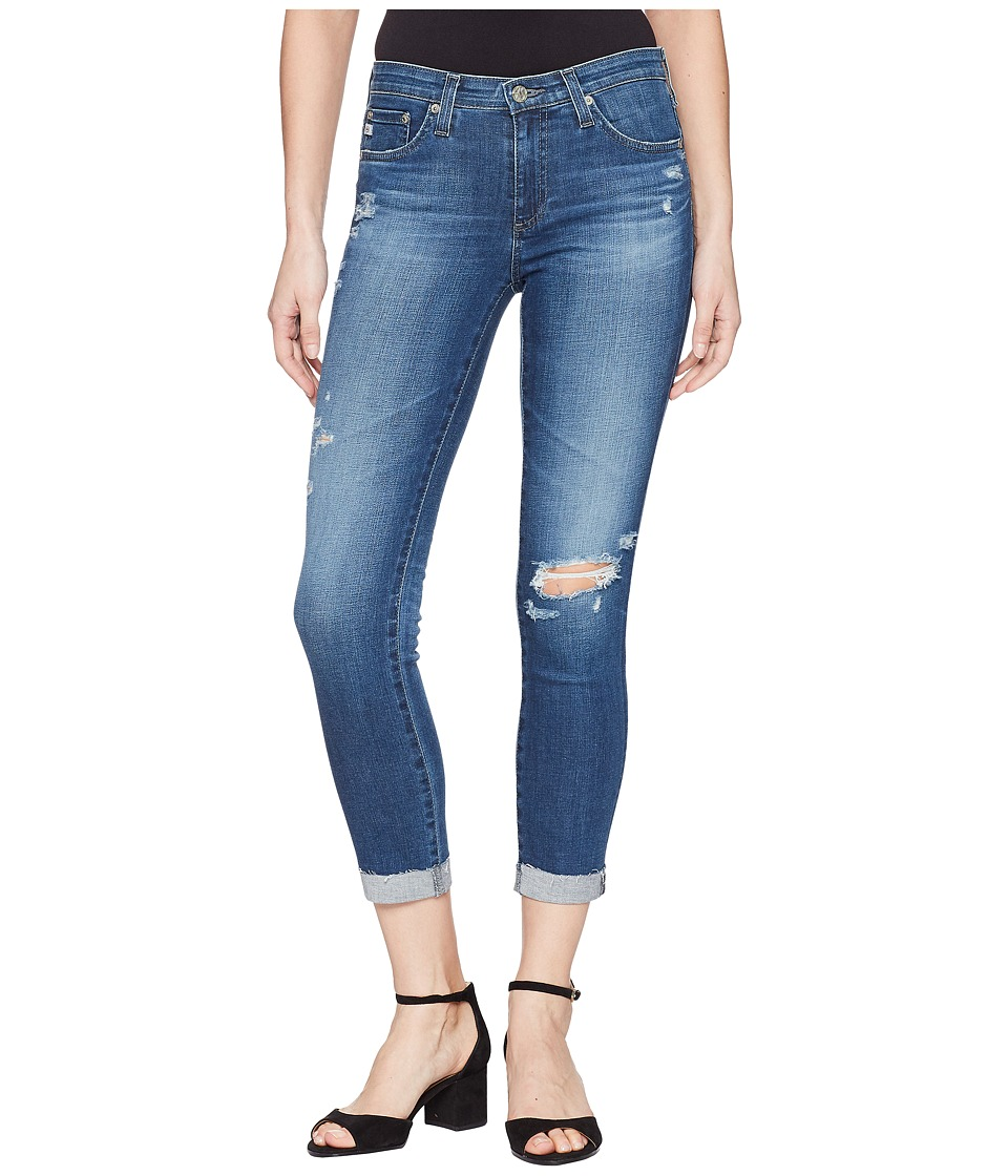 AG Adriano Goldschmied - Prima Roll Up in 9 Years Atlas (9 Years Atlas) Womens Jeans