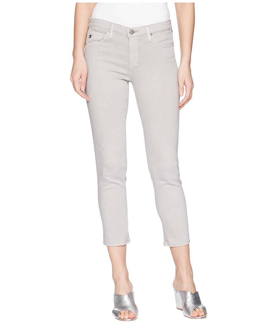 AG Adriano Goldschmied - Prima Crop in Sulfur Grey Dawn (Sulfur Grey Dawn) Womens Jeans