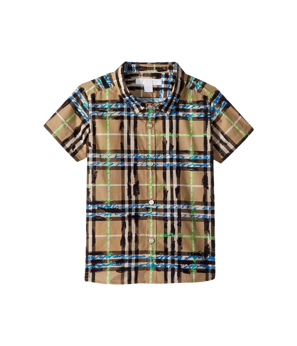 Burberry Kids - Clarkey Top (Infant/Toddler) (Bright Blue) Boys Clothing