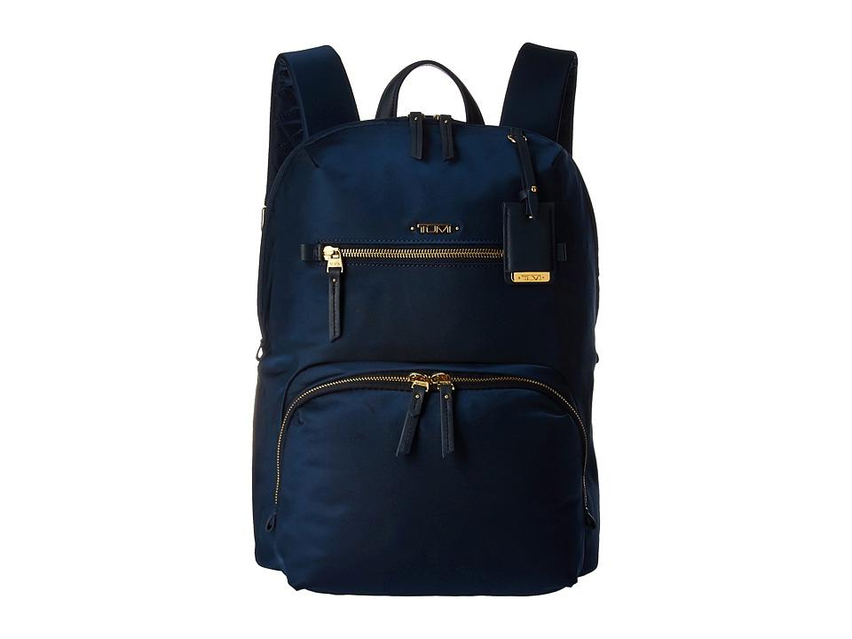 Tumi - Voyageur Halle Backpack (Ocean Blue) Backpack Bags