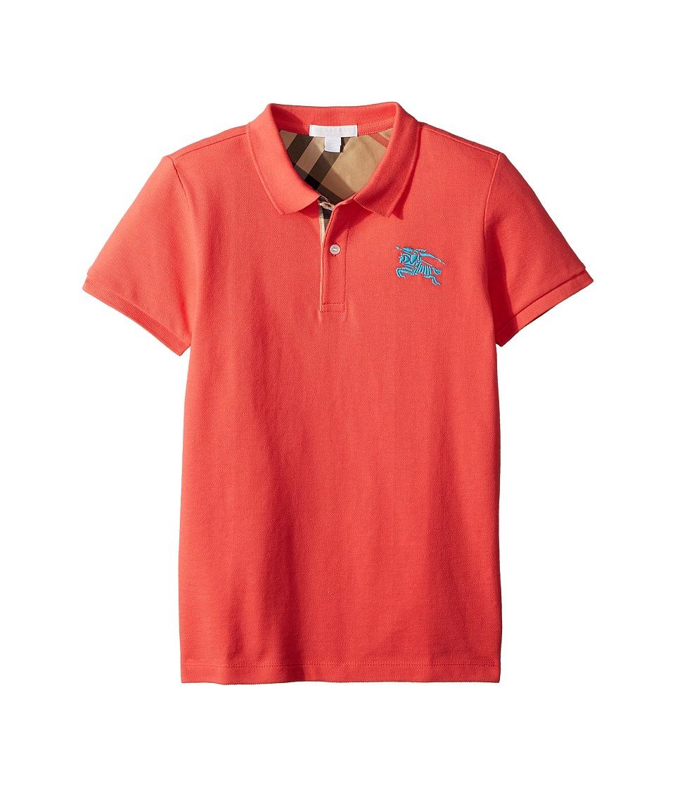 Burberry Kids - Mini Top (Little Kids/Big Kids) (Bright Coral Pink) Boys Clothing