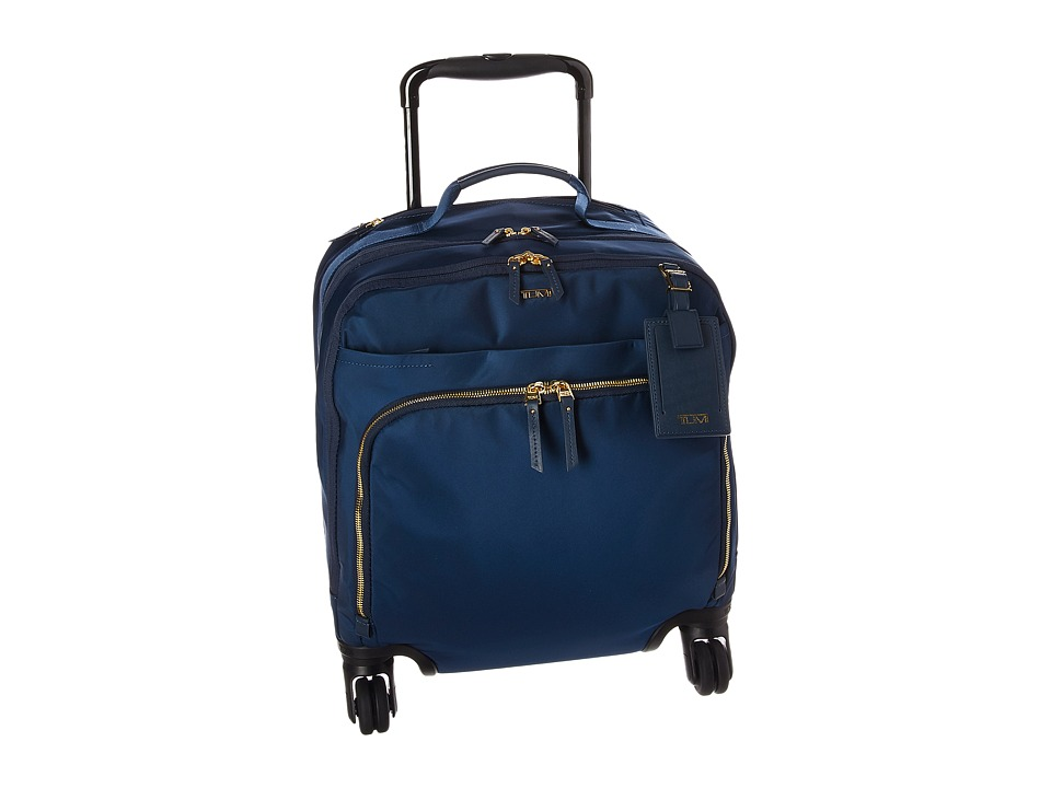 Tumi - Voyageur - Oslo 4 Wheel Compact Carry-On (Ocean Blue) Carry on Luggage