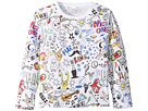 Stella McCartney Kids Stella McCartney Kids Georgie All Over Printed Tee (Infant)