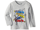 Stella McCartney Kids Georgie Stacked Cars Long Sleeve Tee (Infant)