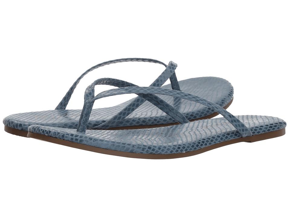 Matisse Malibu (Blue Snake) Sandals