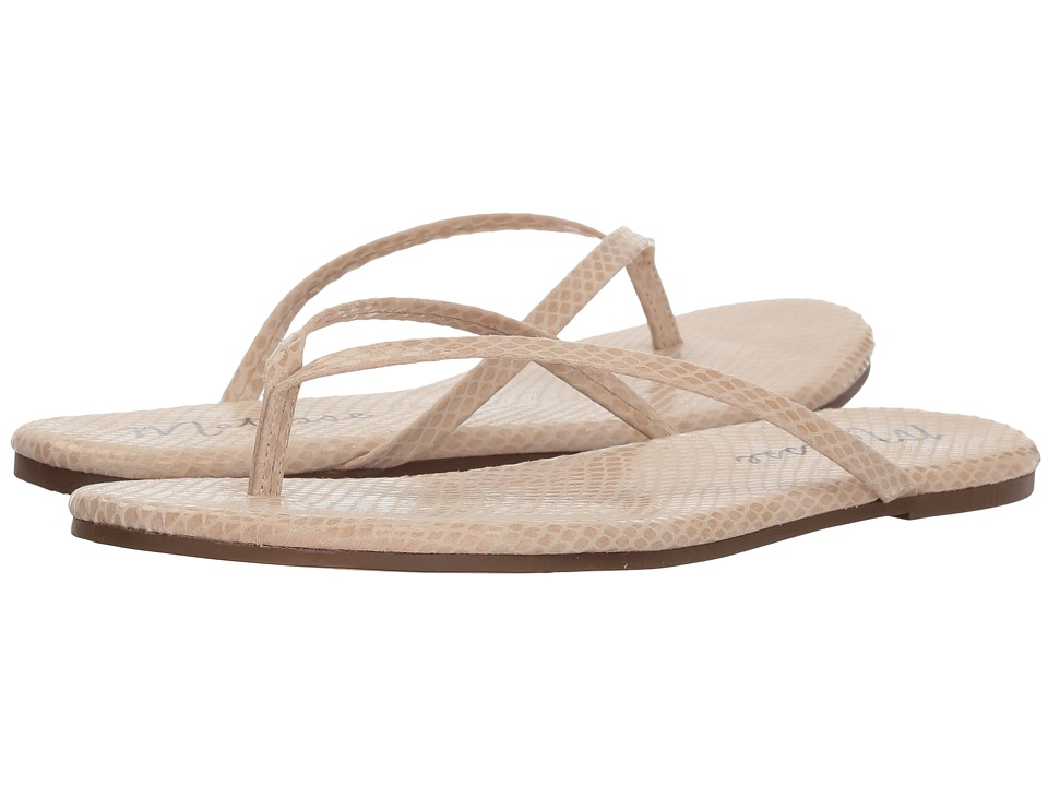 Matisse Malibu (Natural Snake) Sandals