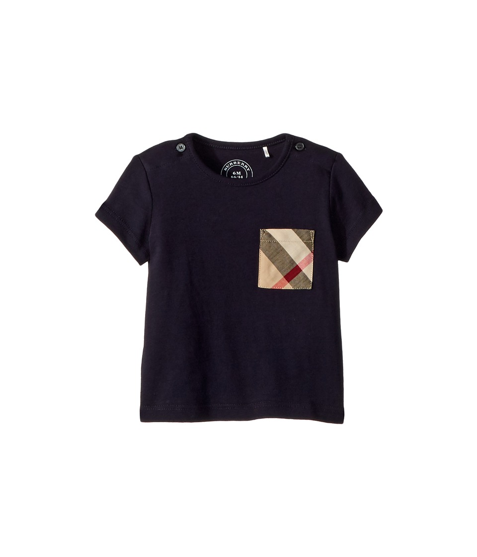 Burberry Kids - Mini Top (Infant/Toddler) (True Navy) Boys Clothing