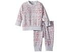 Stella McCartney Kids Stella McCartney Kids Betty + Tootie All Over Hearts Fleece Set (Infant)