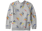 Stella McCartney Kids Billy Long Sleeve All Over Cars Fleece Sweater (Toddler/Little Kids/Big Kids)