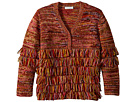 Stella McCartney Kids Eloise Fringe Cardigan (Little Kids/Big Kids)
