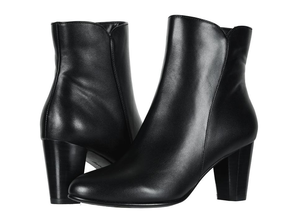 David Tate Alexa (Black Calf) Women's Dress Pull-on Boots
