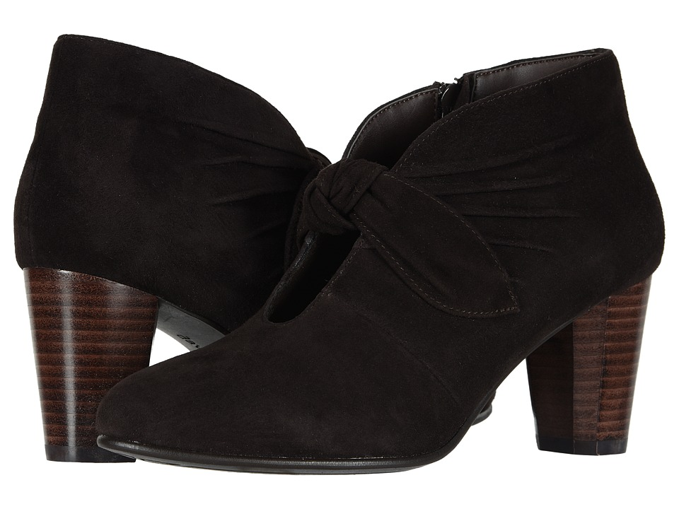 David Tate Gwen (Brown Suede) Women's Dress Pull-on Boots