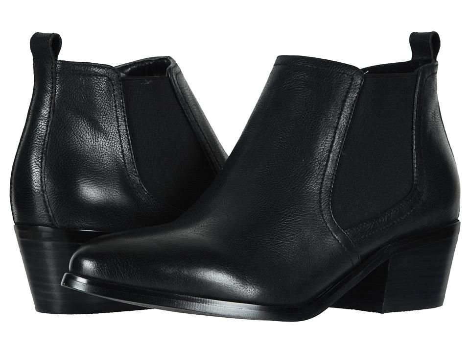 David Tate Maxie (Black Mini Pebble) Women's Dress Pull-on Boots