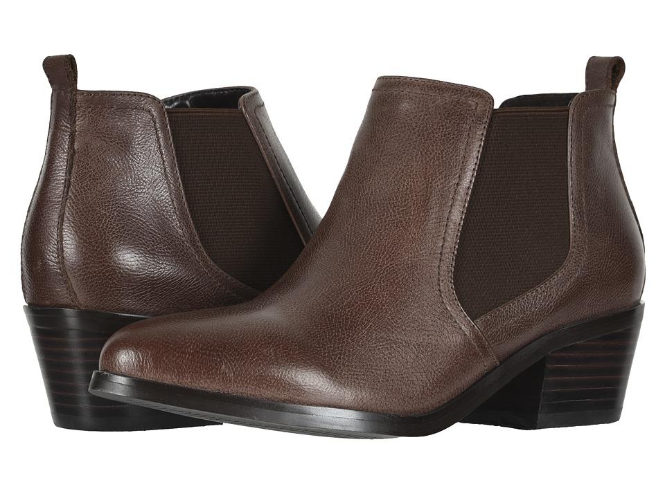 David Tate Maxie (Luggage Mini Pebble) Women's Dress Pull-on Boots