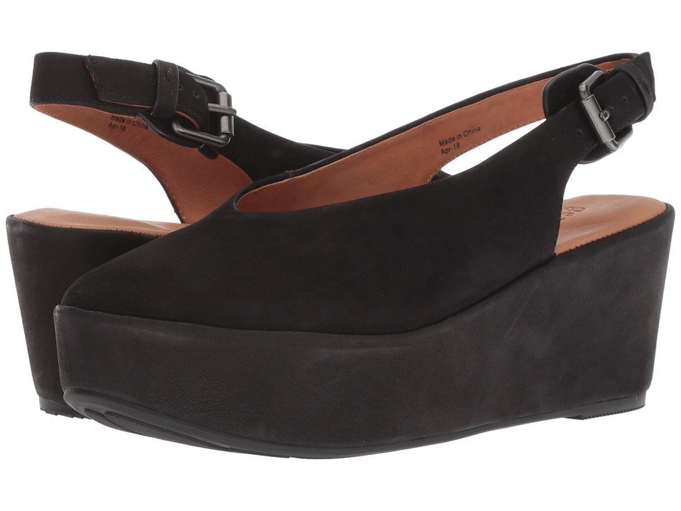 Gentle Souls by Kenneth Cole Nyomi (Black Nubuck) Women's Shoes