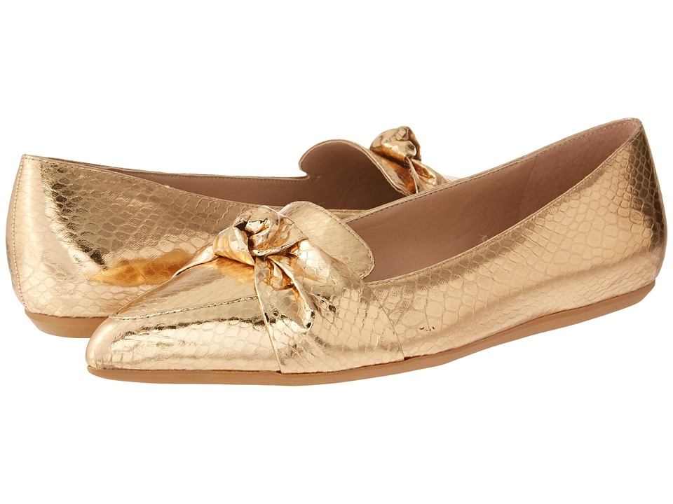 Franco Sarto - Adrianni (Gold) Womens Flat Shoes