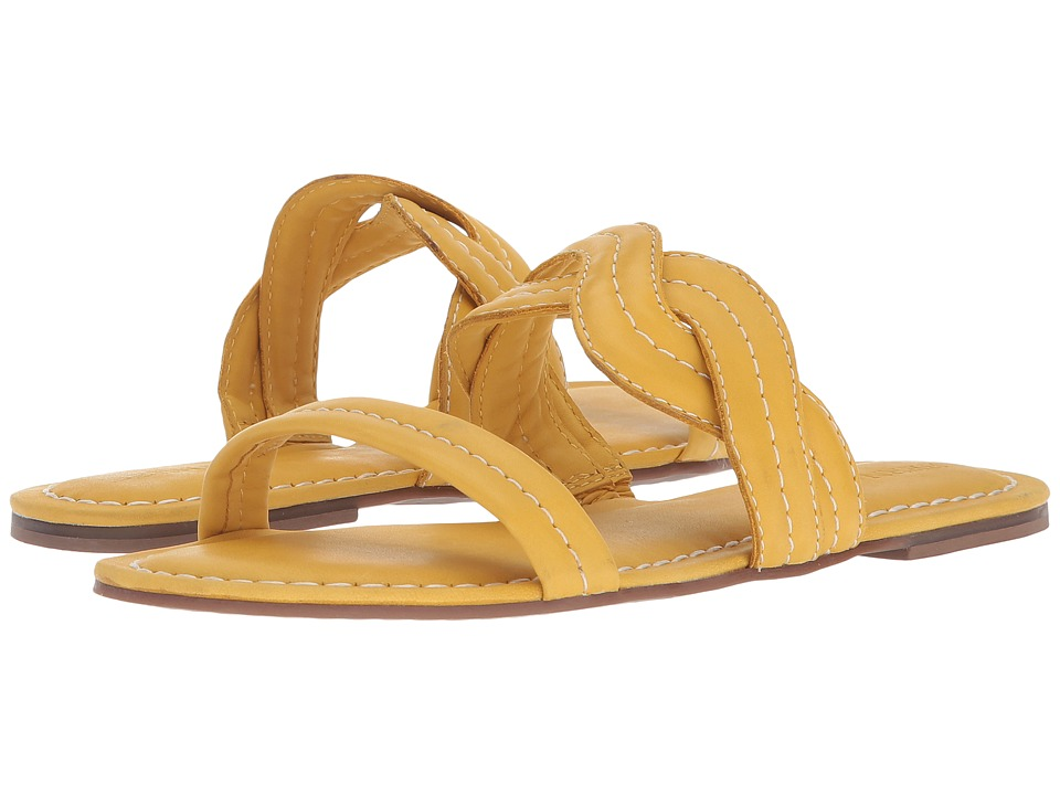 Bernardo Mirian Sandal (Golden Yellow) Sandals