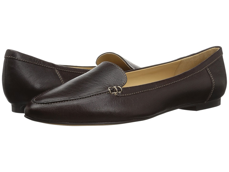 Trotters Ember (Dark Brown Soft Smooth Leather) Slip-On Shoes
