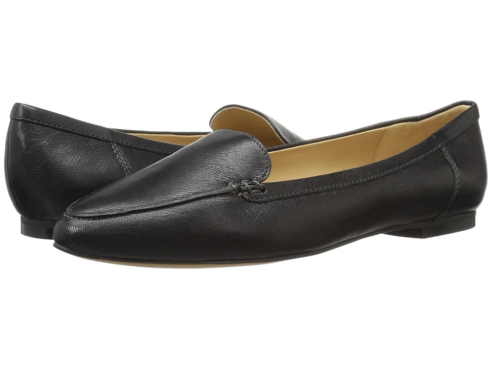 Trotters Ember (Black Soft Smooth Leather) Slip-On Shoes