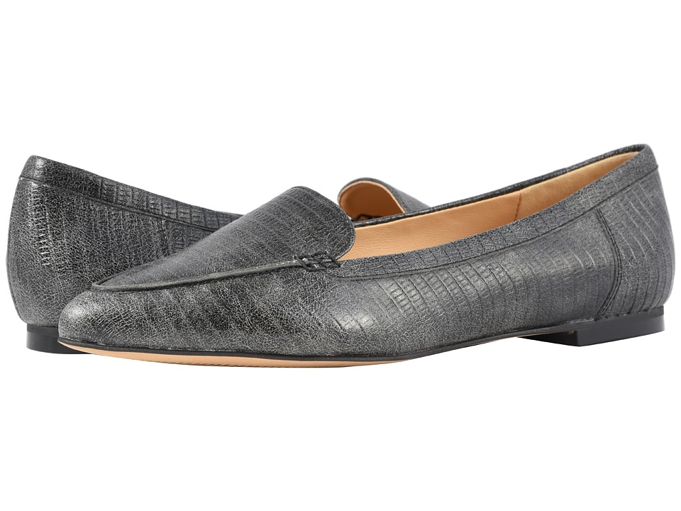 Trotters Ember (Faded Black Lizard Stamped Leather) Slip-On Shoes