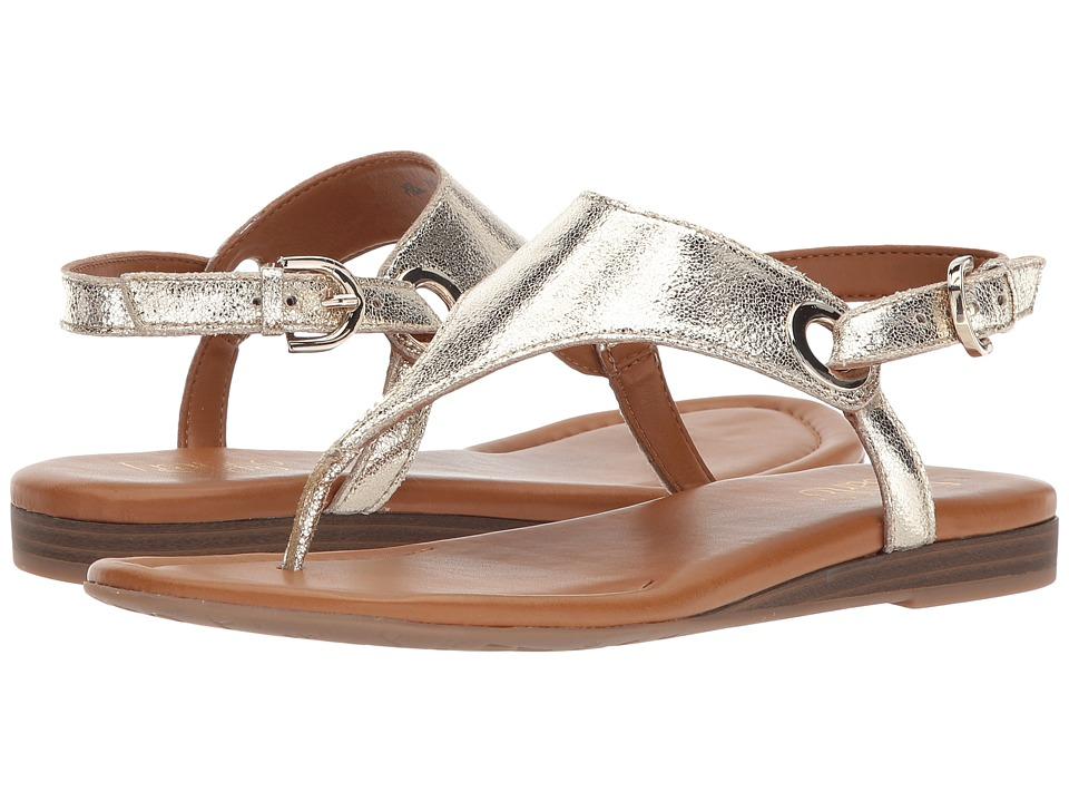 Franco Sarto Grip (Gold) Women's Shoes