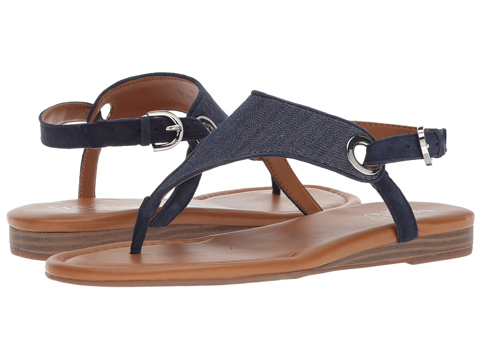 Franco Sarto - Grip 2 (Denim) Women's Sandals