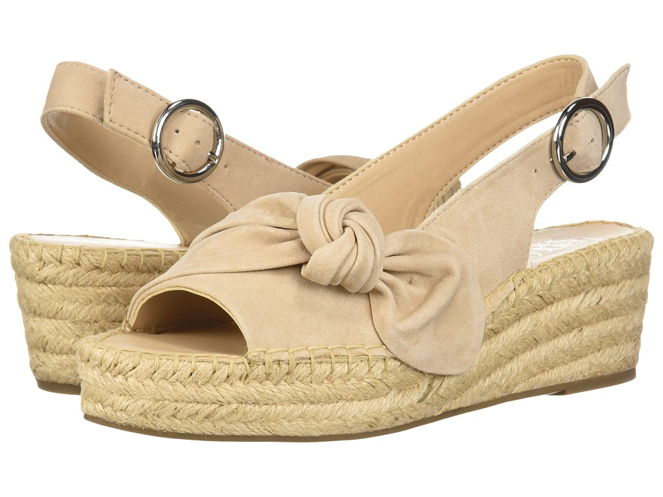 Franco Sarto - Piroette (Bone) Womens Toe Open Shoes