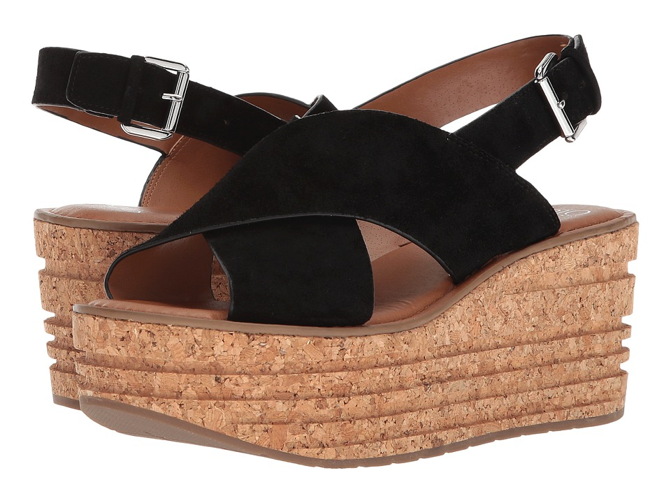 Franco Sarto - Caroline by SARTO (Black) Women's Sandals