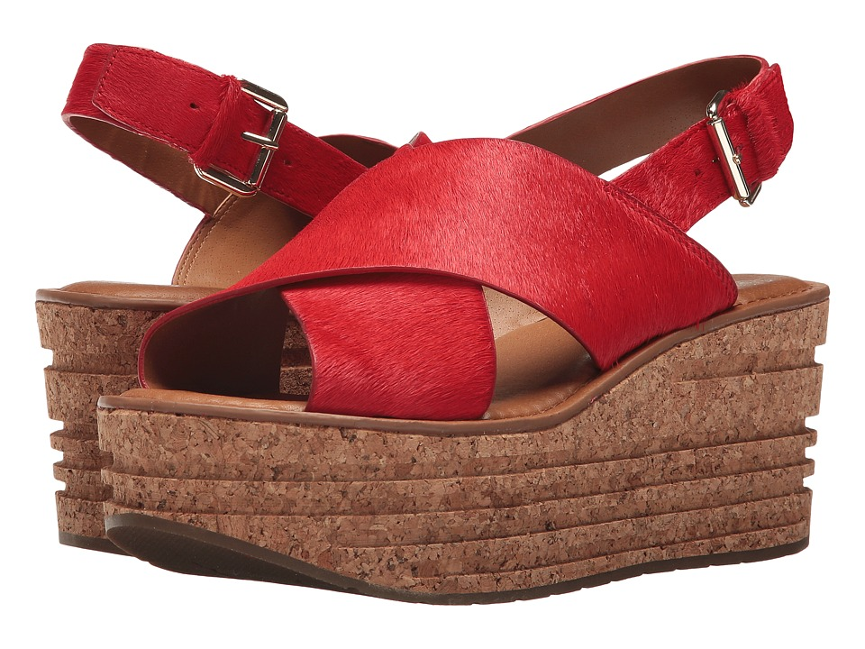 Franco Sarto Caroline by SARTO (Red Pony) Sandals