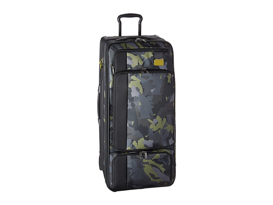 Tumi - Merge Wheeled Duffel (Green Camo) Duffel Bags