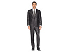 Kenneth Cole Reaction Unlisted Slim Fit Finished Bottom Suit