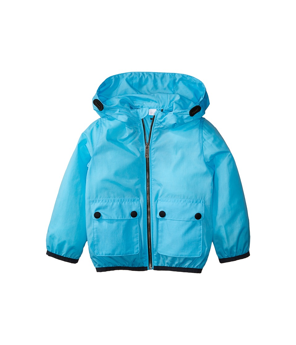 Burberry Kids - Hurst ACBBI Outerwear (Infant/Toddler) (Bright Turquoise) Boy's Coat
