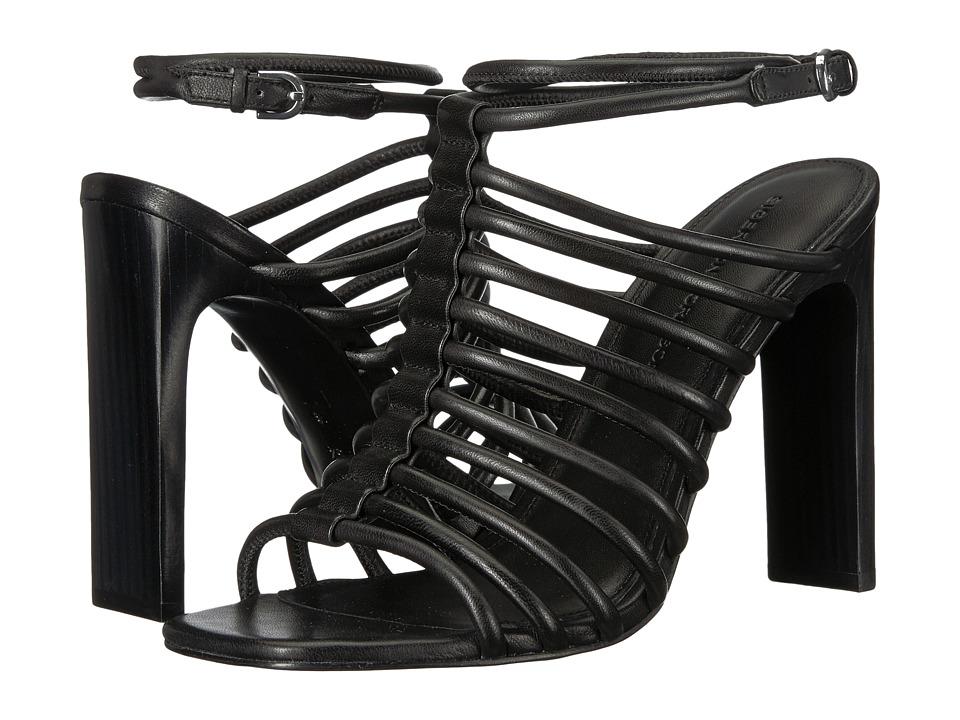 Sigerson Morrison Ilyssa (Black Cloth Nappa) Women's Shoes