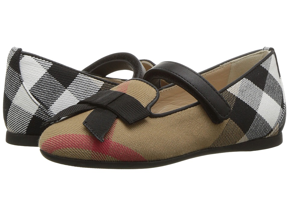 Burberry Kids - Ally HC ABDYQ Shoe (Toddler) (Classic Check) Kids Shoes