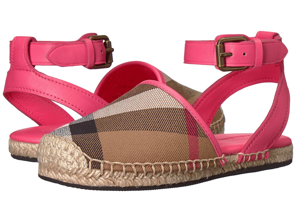 Burberry Kids - New Perth ACALY Shoe (Toddler/Little Kid) (Bright Peony Rose) Kids Shoes